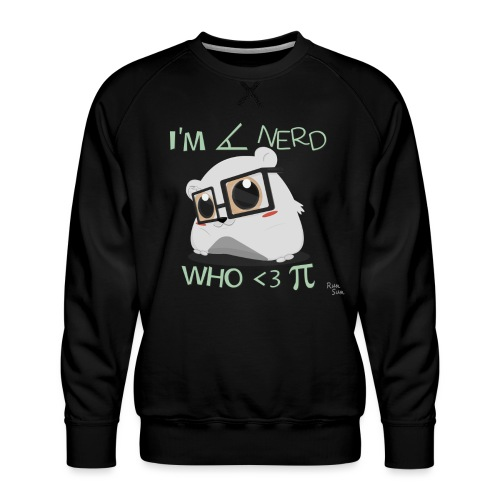 A Cute Nerd - Men's Premium Sweatshirt
