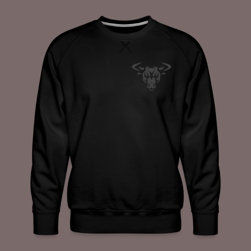 Grey Bull - Men's Premium Sweatshirt