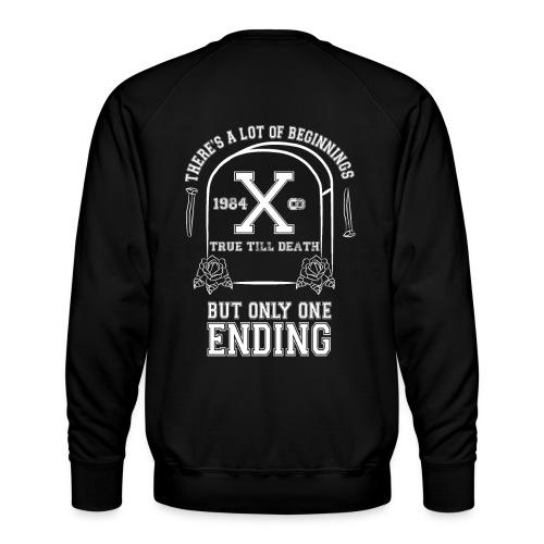 True Till Death Montreal SXE - Men's Premium Sweatshirt