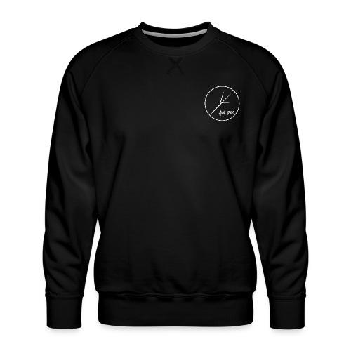 White Circle - Men's Premium Sweatshirt