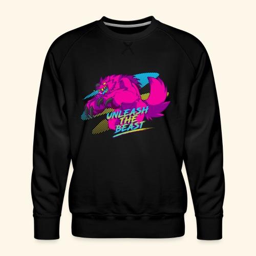 - Unleash the Beast - - Men's Premium Sweatshirt