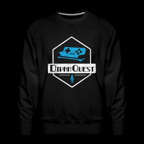 DivanQuest Logo (Badge) - Men's Premium Sweatshirt