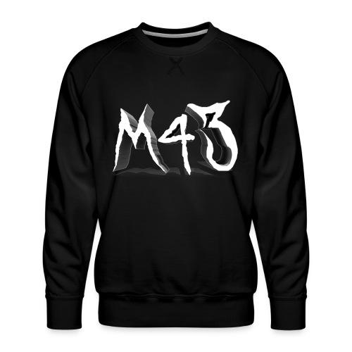M43 Logo 2018 - Men's Premium Sweatshirt