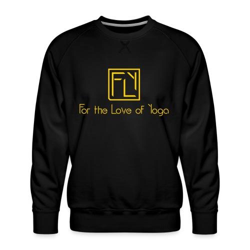For the Love of Yoga - Men's Premium Sweatshirt