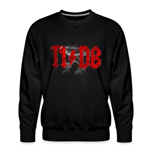 T1/DB AC/DC Style - Men's Premium Sweatshirt