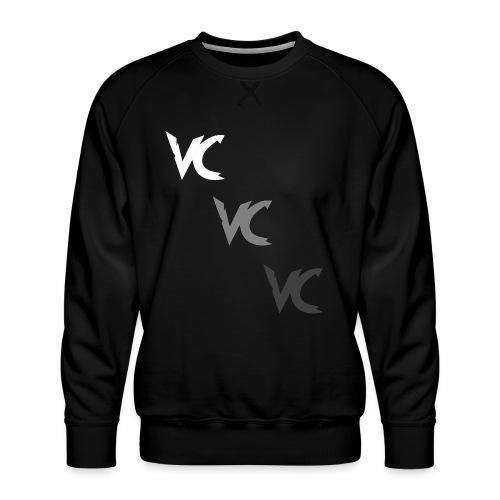 V3L0C1TY Logo Mugs & Drinkware - Men's Premium Sweatshirt