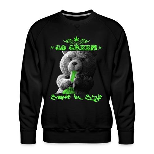 Go Green 2 - Men's Premium Sweatshirt