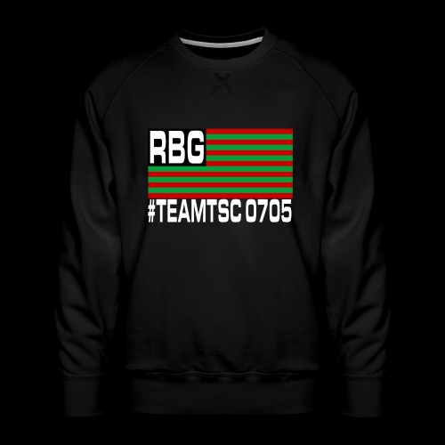 TeamTSC RBGFlag 2 - Men's Premium Sweatshirt