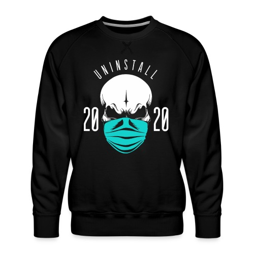 uninstall 2020 - Men's Premium Sweatshirt