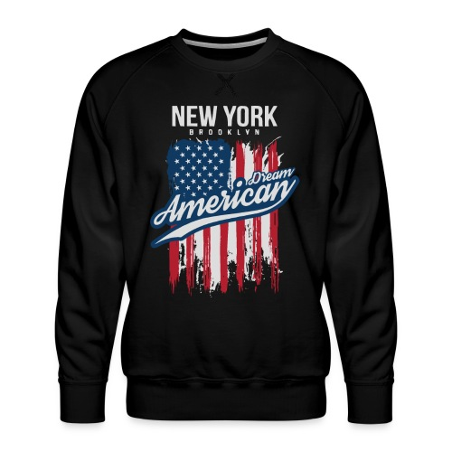 nyc new york brooklyn - Men's Premium Sweatshirt