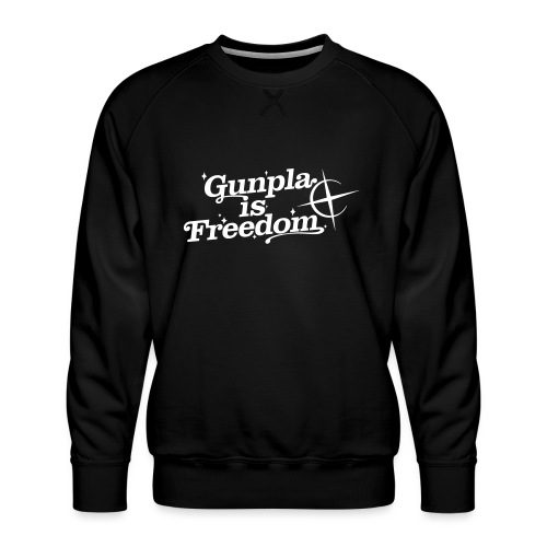 Freedom Men's T-shirt — Banshee Black - Men's Premium Sweatshirt