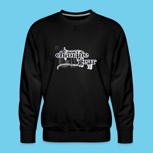 Chlorine Gear Textual B W - Men's Premium Sweatshirt