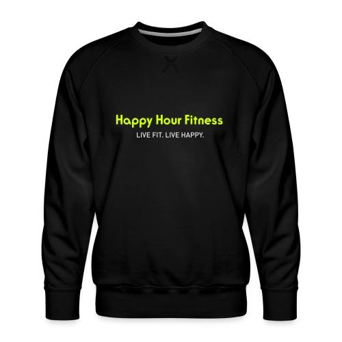 HHF_logotypeandtag - Men's Premium Sweatshirt