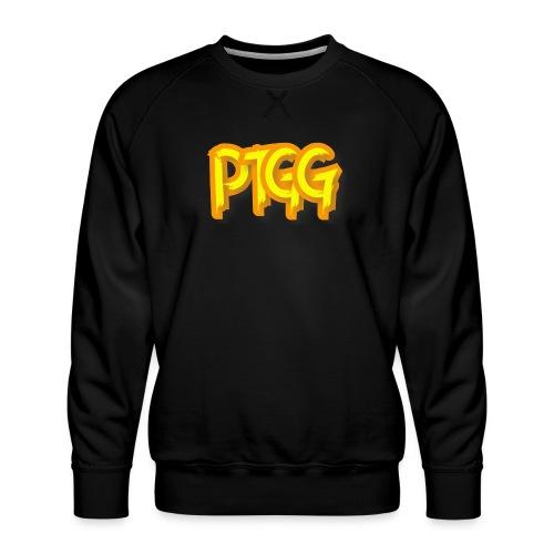 Ptolome The Greek God Logo - Men's Premium Sweatshirt