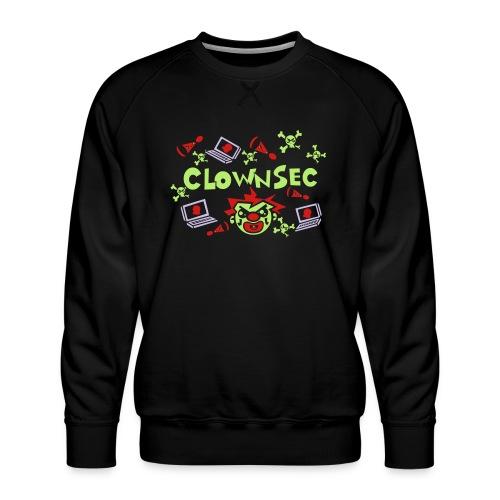 The Clown Hacker - Men's Premium Sweatshirt