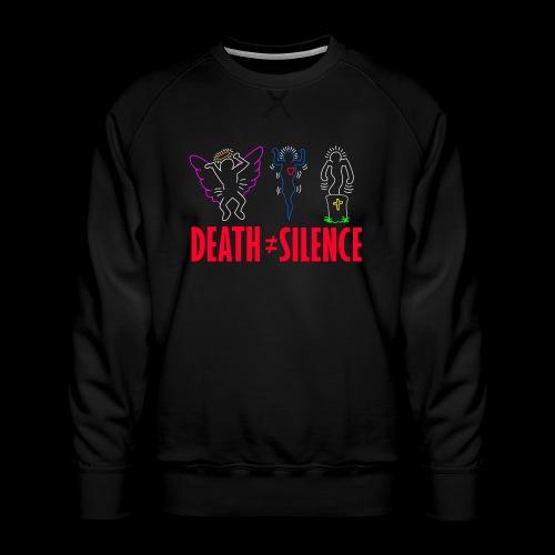 Death Does Not Equal Silence - Men's Premium Sweatshirt