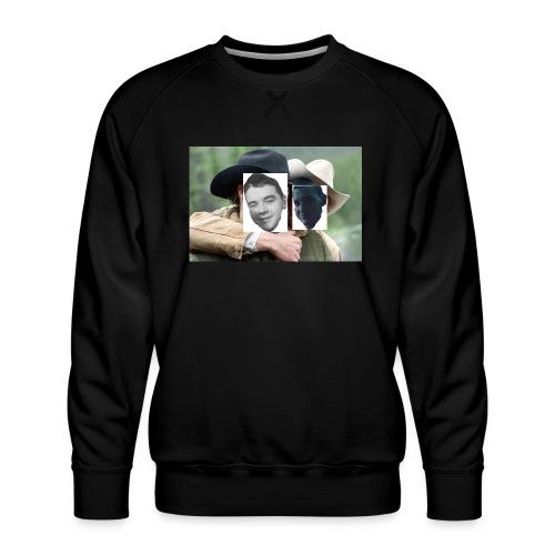 Darien and Curtis Camping Buddies - Men's Premium Sweatshirt