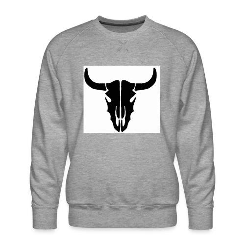 Longhorn skull - Men's Premium Sweatshirt