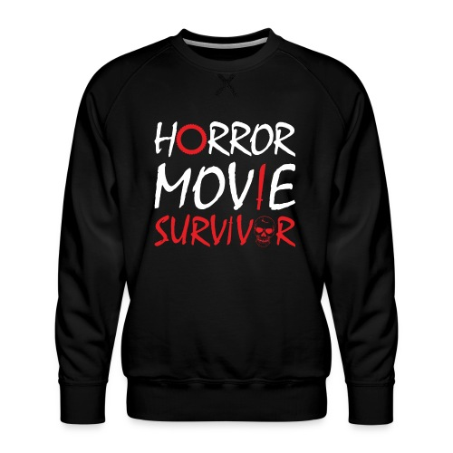 Horror Movie Survivor - Men's Premium Sweatshirt
