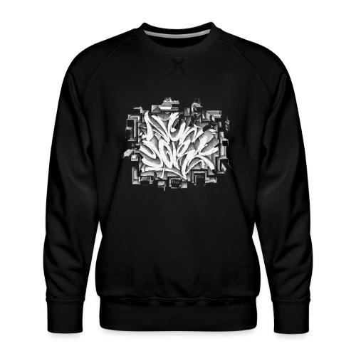 Kostya - NYG Design - REQUIRES WHITE SHIRT COLOR - Men's Premium Sweatshirt
