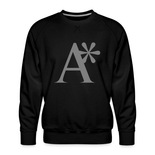 A* logo - Men's Premium Sweatshirt