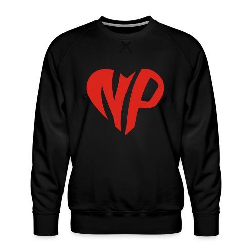 np heart - Men's Premium Sweatshirt