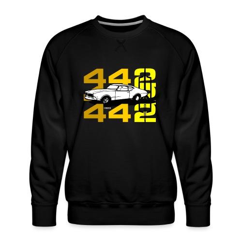 auto_oldsmobile_442_002a - Men's Premium Sweatshirt