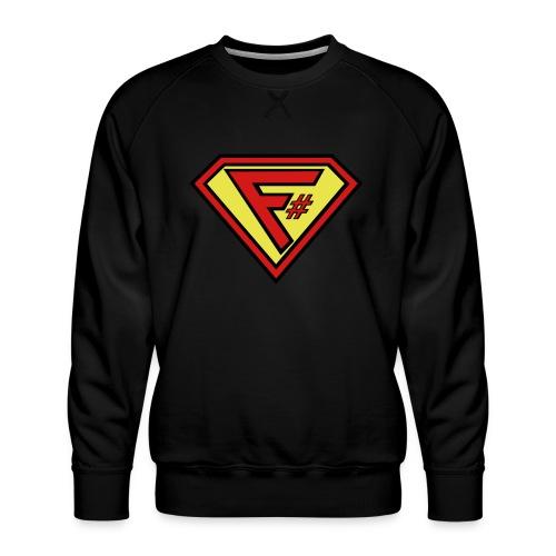 F# Hero Woman - Men's Premium Sweatshirt