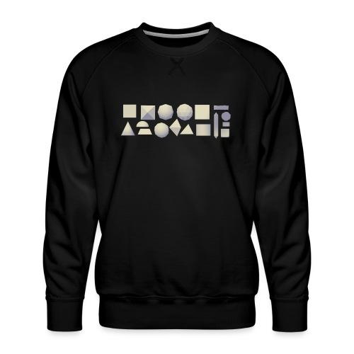 Anyland shapes - Men's Premium Sweatshirt