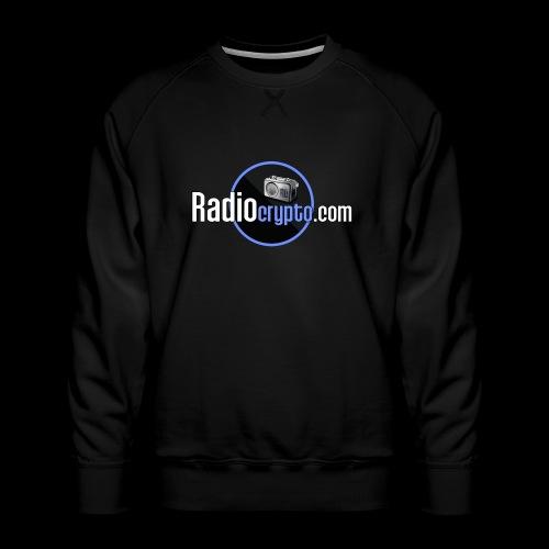 RadioCrypto Logo 1 - Men's Premium Sweatshirt