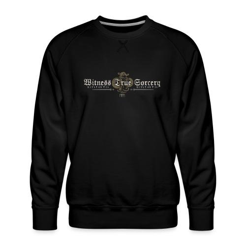 Witness True Sorcery Logo - Men's Premium Sweatshirt
