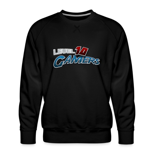 Level10Gamers Logo - Men's Premium Sweatshirt