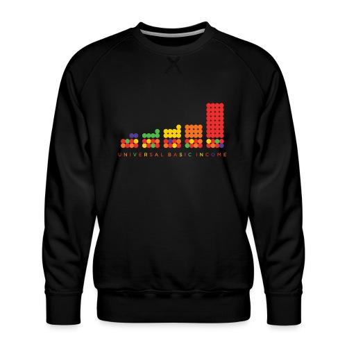 Universal Basic Income - Men's Premium Sweatshirt