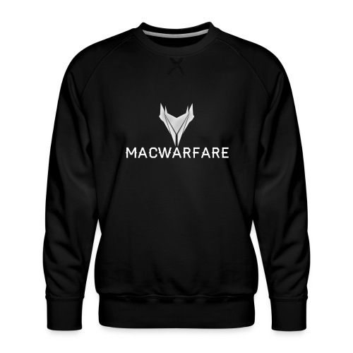 MacWarfare Channel Logo - Men's Premium Sweatshirt