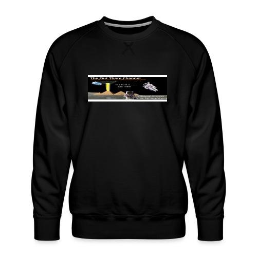UFO Pyramids TheOutThereChannel ver 2017 - Men's Premium Sweatshirt