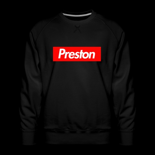 RealPrestonGamez Supreme Box - Men's Premium Sweatshirt
