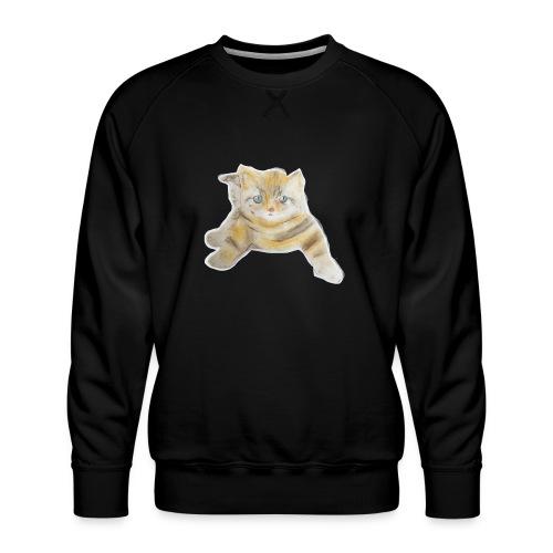 sad boy - Men's Premium Sweatshirt