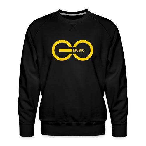 GOMusic logo - Men's Premium Sweatshirt