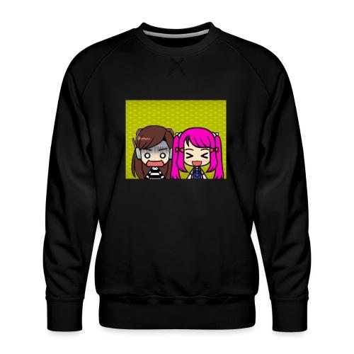 Phone case merch of jazzy and raven - Men's Premium Sweatshirt