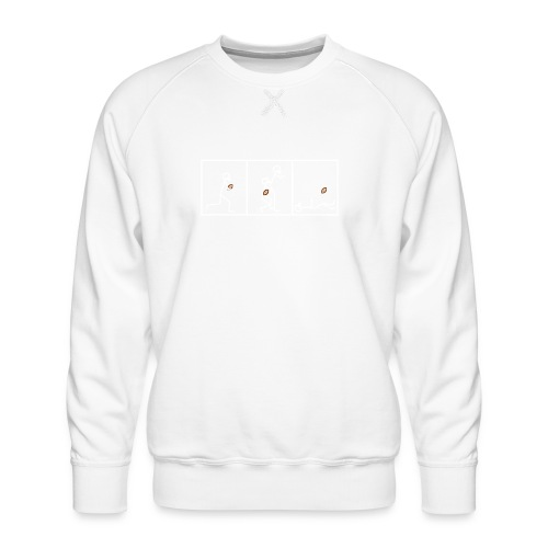 BUTTFUMBLE 6 (With Cartoon) - Men's Premium Sweatshirt