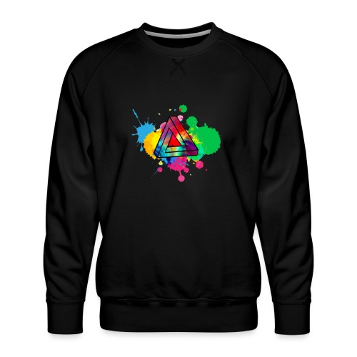 PAINT SPLASH - Men's Premium Sweatshirt