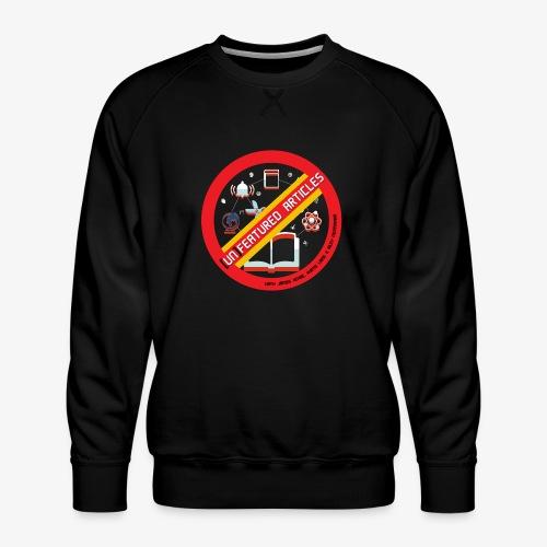 unFeatured Articles Logo - Men's Premium Sweatshirt