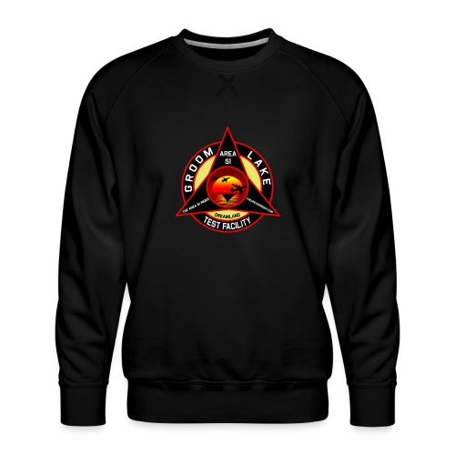 THE AREA 51 RIDER CUSTOM DESIGN - Men's Premium Sweatshirt