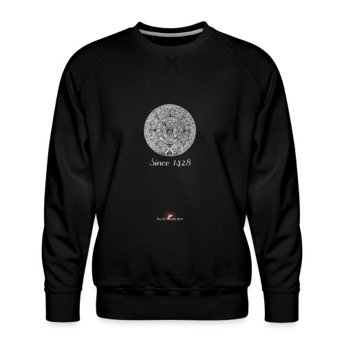 Since 1428 Aztec Design! - Men's Premium Sweatshirt