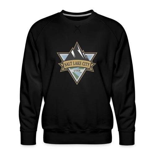 Salt Lake City, Utah - Men's Premium Sweatshirt