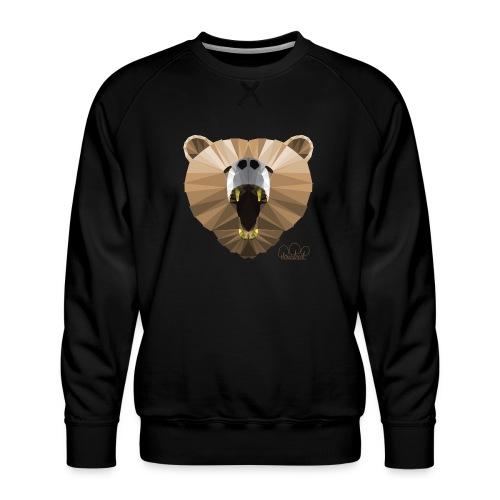 Hungry Bear Women's V-Neck T-Shirt - Men's Premium Sweatshirt