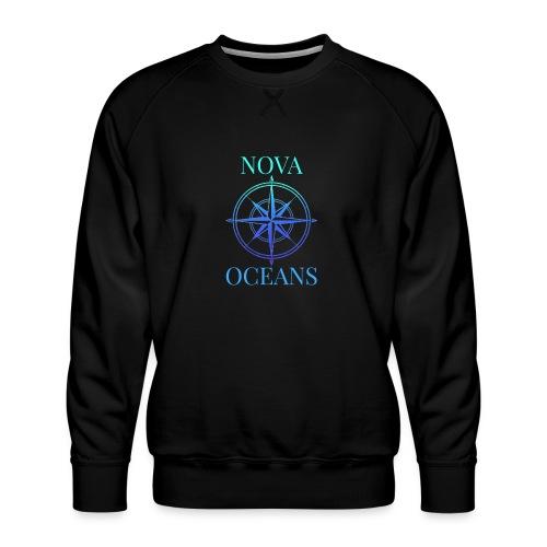 logo_nova_oceans - Men's Premium Sweatshirt