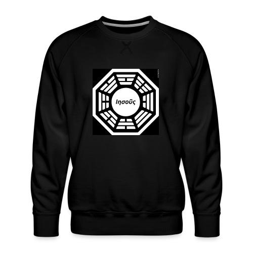 My Dharma is Jesus - Men's Premium Sweatshirt