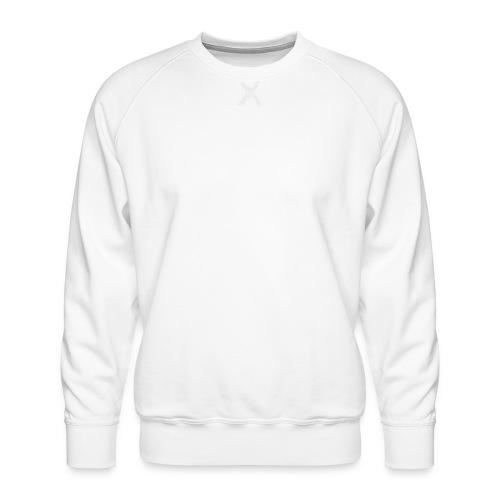 White - Men Hoop Too! - Men's Premium Sweatshirt