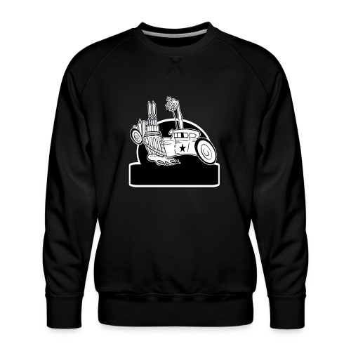 Personalized Rat Rod - Men's Premium Sweatshirt